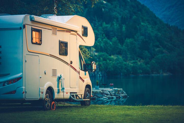Stuurslot camper